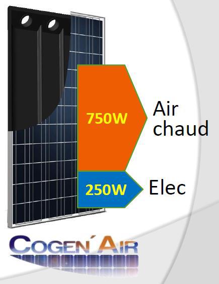 Panneaux solaire Cogen'Air - Installateur en Normandie E'solaire