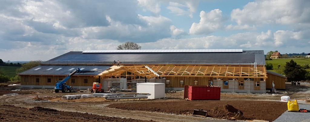 Installations panneaux solaire - Centre équestre - E'solaire